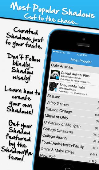 ShadowMe for Twitter screenshot 4