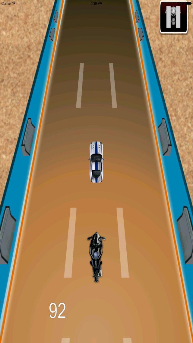 Radiation Fire Bike Pro - Furious One Touch Motorcycle Racing screenshot 4