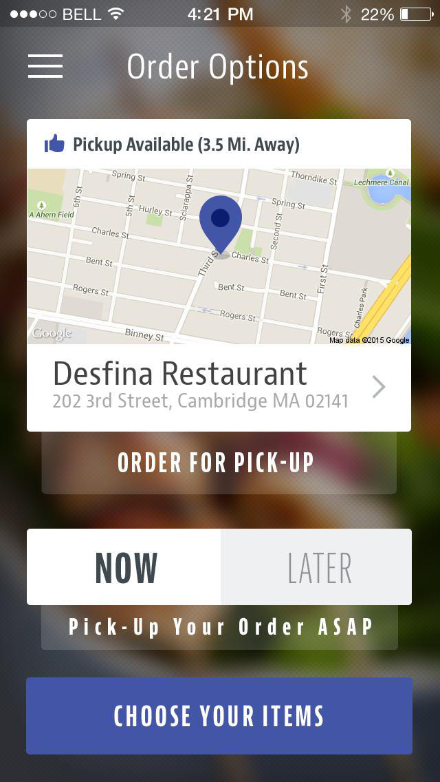 Desfina Restaurant screenshot 2
