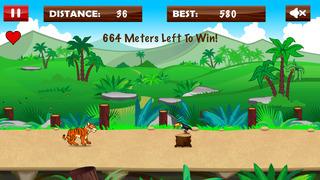 Frenzy Tiger Mania Run screenshot 1