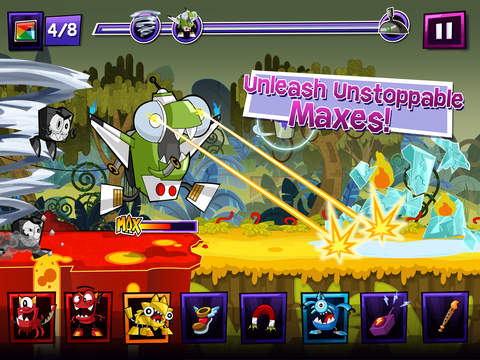 Mixels Rush - Use Mixes, Maxes and Murps to Outrun the Nixels screenshot 8