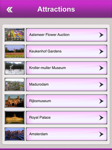 Netherlands Tourism Guide screenshot 8