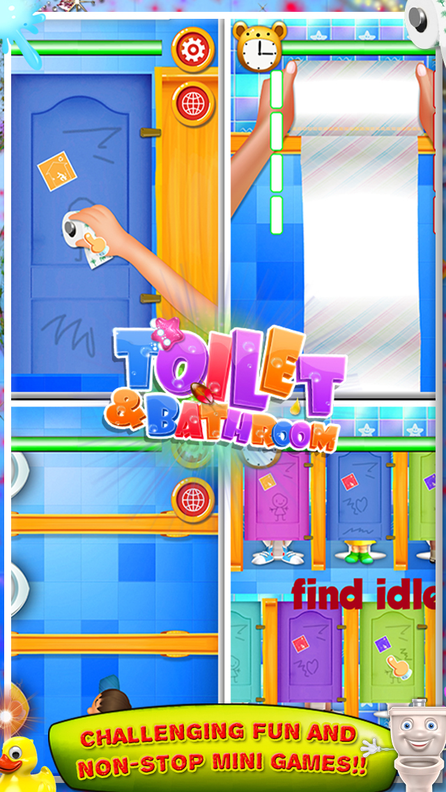 Toilet and Bathroom Fun Games screenshot 1