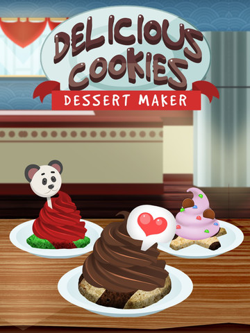 Amazing Delicious Cookies Dessert Maker - Food Baking Games screenshot 4