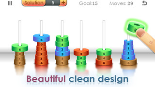 Zen Hanoi - Tower Game screenshot #1