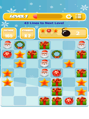 Xmas Match 4 Game screenshot 6