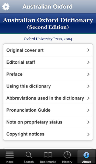 Australian Oxford Dictionary screenshot 5