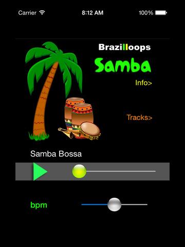 Brazilloops Samba screenshot 3
