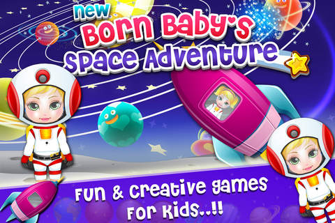 New Born Baby Space Adventure - náhled