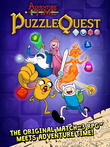 Adventure Time Puzzle Quest - Match 3 RPG Game screenshot 6
