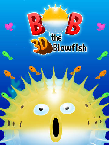 Bob the Blowfish - The Moody Virtual Fugu Fish screenshot #1