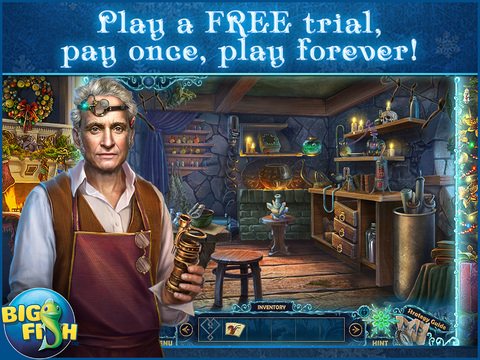 Christmas Eve: Midnight's Call HD - A Holiday Hidden Object Adventure screenshot 1