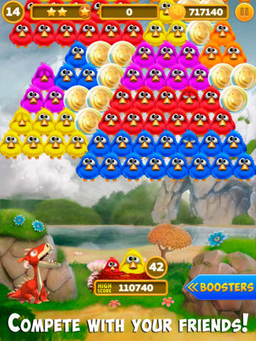 Bubble Birds 4: Match 3 Puzzle Shooter Game screenshot 9