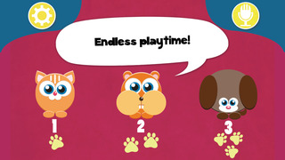 Play with Cute Baby Pets Pets Game for a whippersnapper and preschoolers screenshot 2