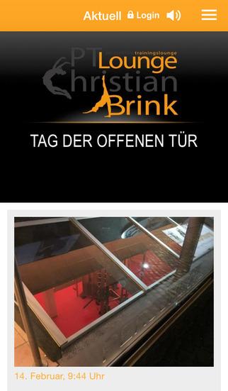 PT - Lounge Christian Brink screenshot 1