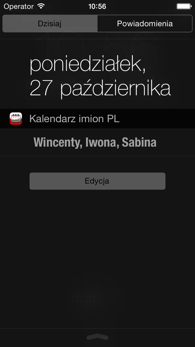 Kalendarz imion PL screenshot 4