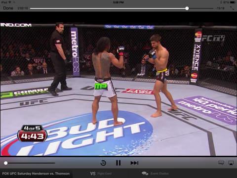 UFC ® screenshot 7