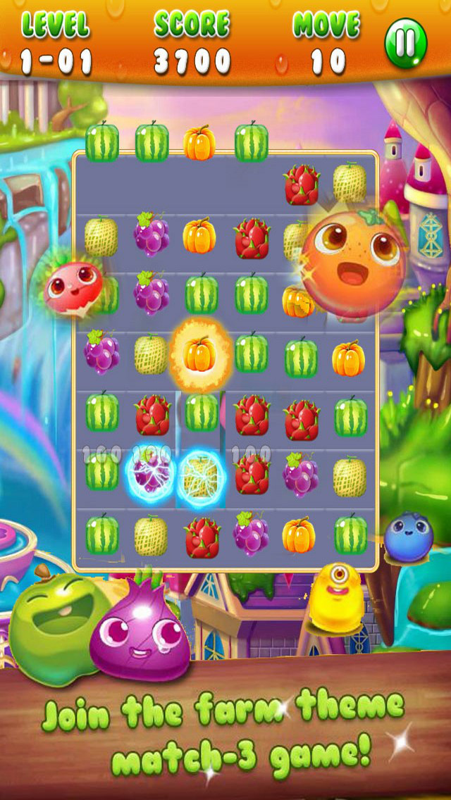 Fruit Island: Switch Mania Game screenshot 1