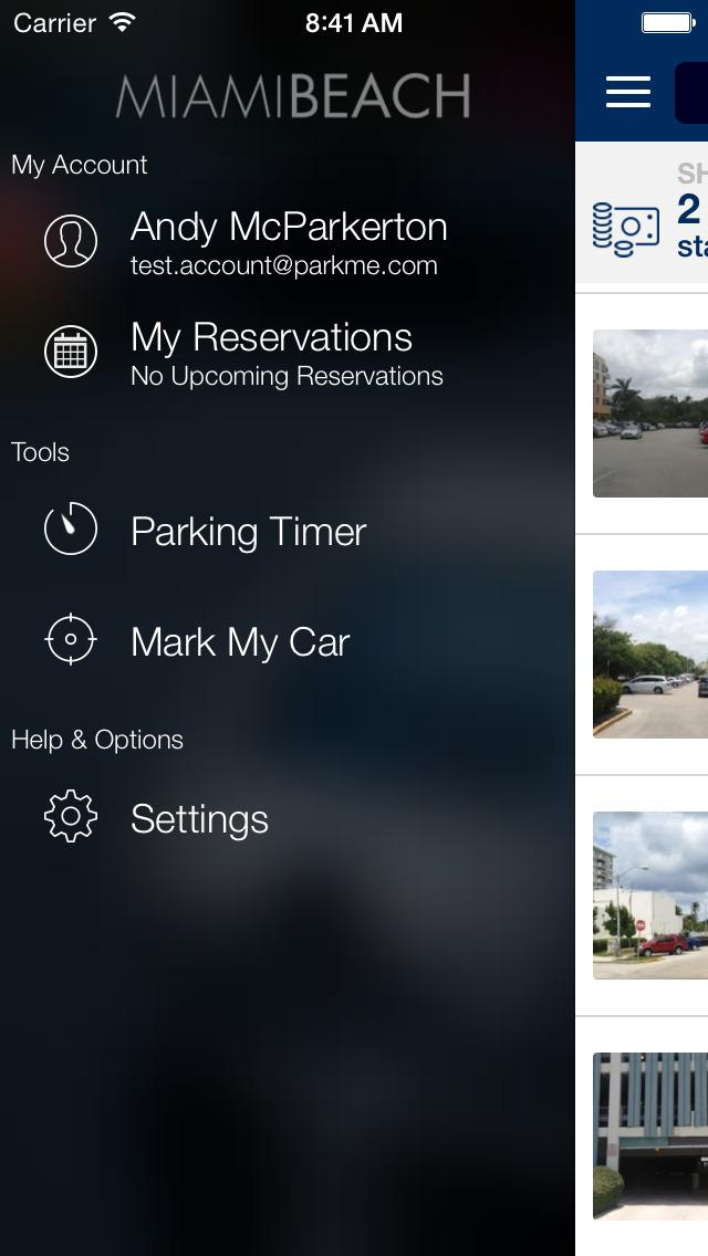 ParkMe - Miami Beach screenshot 4