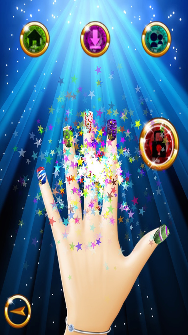 Artistic Nail Saloon - Let's Dress up! screenshot 5