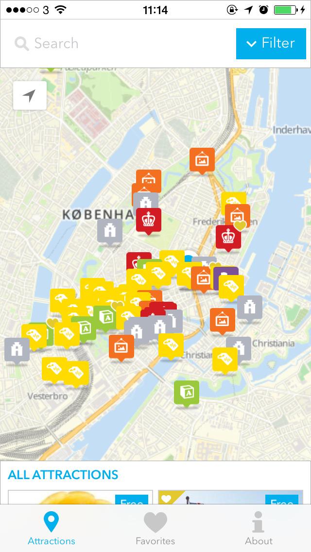 Copenhagen City Card screenshot 4