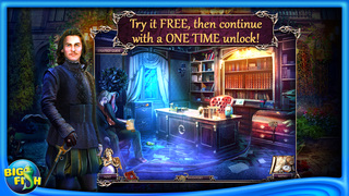 Death Pages: Ghost Library - A Hidden Object Game with Hidden Objects screenshot 1