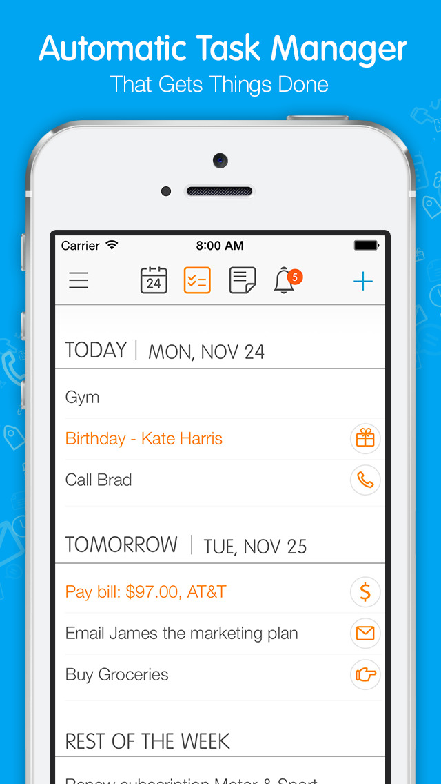 24me Smart Personal Assistant screenshot 2