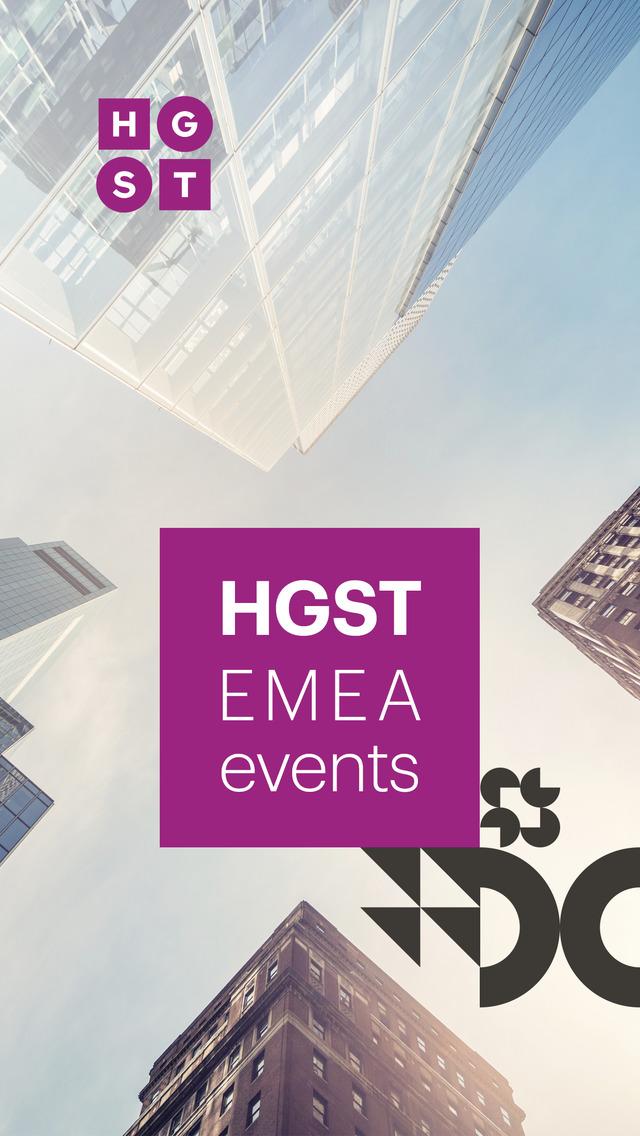 HGST EMEA Events screenshot 1