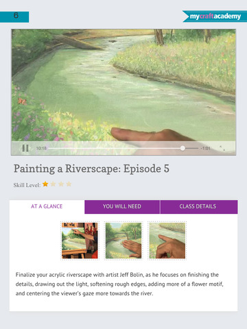 Paint a Riverscape in Acrylics screenshot 10
