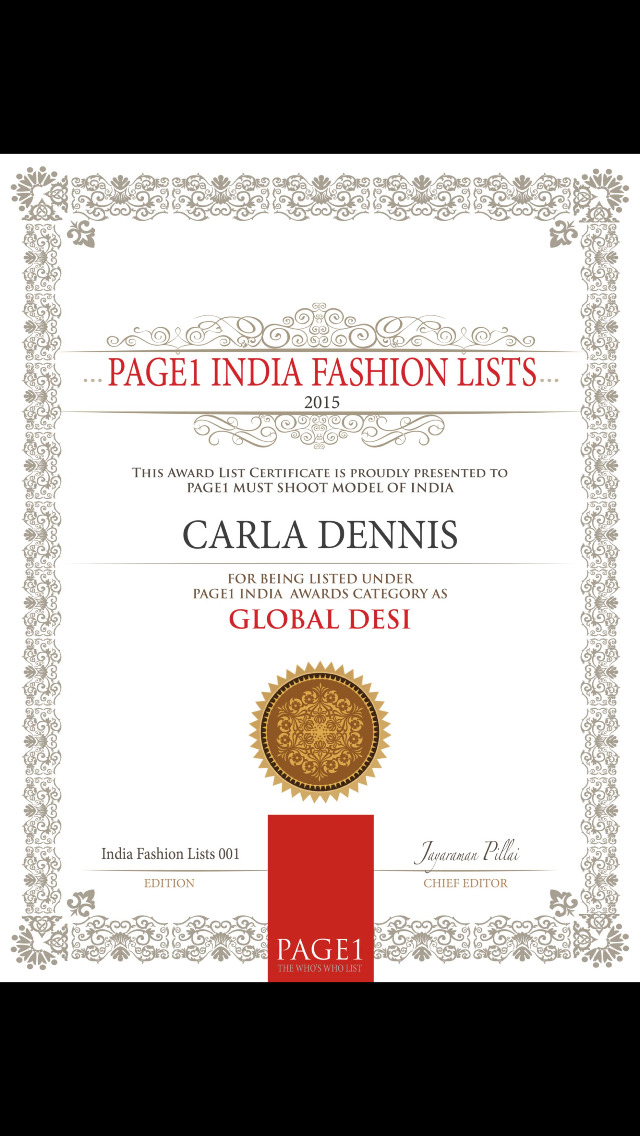 PAGE1 India Fashion Lists screenshot 5