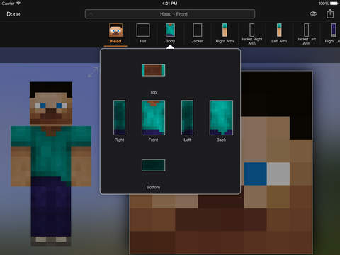 Minecraft: Skin Studio screenshot 7