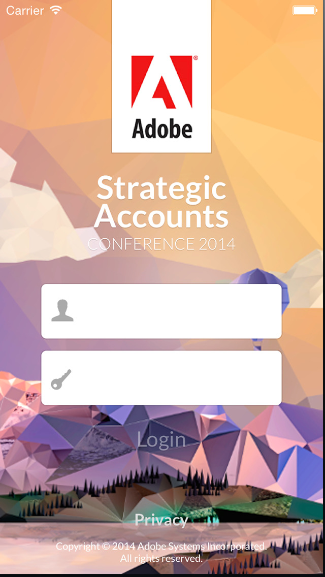Adobe Strategic Events screenshot 1