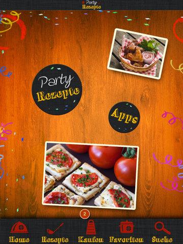 Party-Rezepte - Schnelle Häppchen, kaltes Buffet und Fingerfood screenshot 9