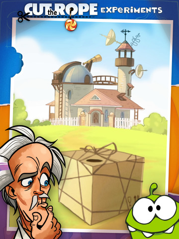 Cut the Rope: Experiments HD Free screenshot 2