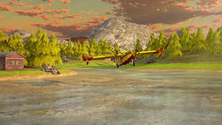Airplane Firefighter Simulator - eXtreme 3D Landing Firefighting Emergency Rescue Flying Games screenshot 5