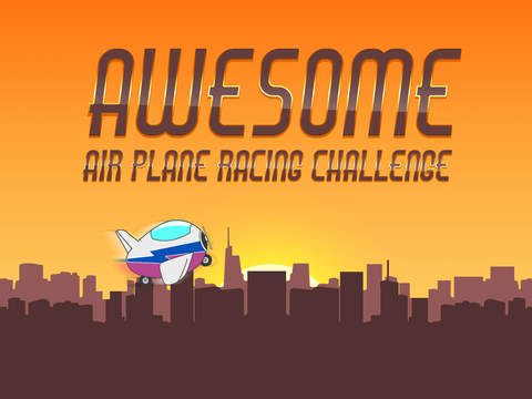 Awesome Air Plane Racing Challenge - cool jet flying action game screenshot 4