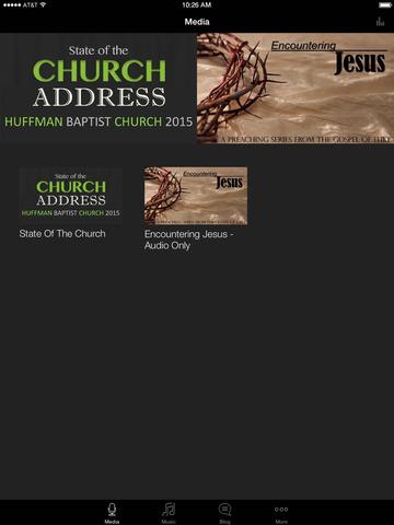 Huffman Baptist Church screenshot 4