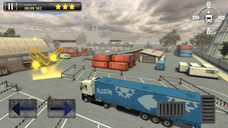 3D Semi Truck Parking Simulator 2017 screenshot 4