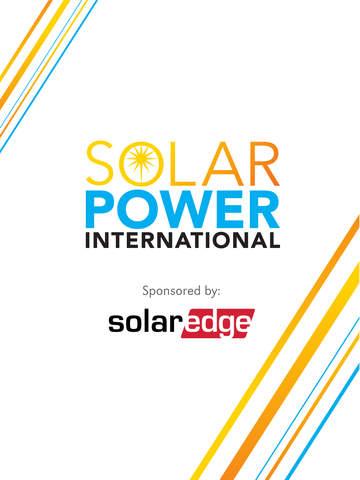 Solar Power International 2015 screenshot 3