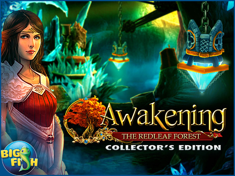 Awakening: The Redleaf Forest HD - A Magical Hidden Object Adventure screenshot 5