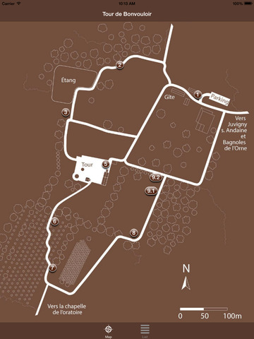 Tower and detours in Bonvouloir screenshot 7