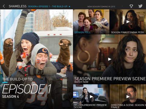 Showtime Sync – Second Screen app for Showtime Original Series screenshot 9