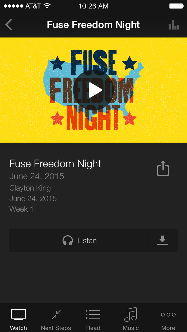 NewSpring Fuse screenshot 3