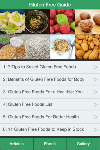Gluten Free Guide - The Diet Guide To Treat Celiac - náhled