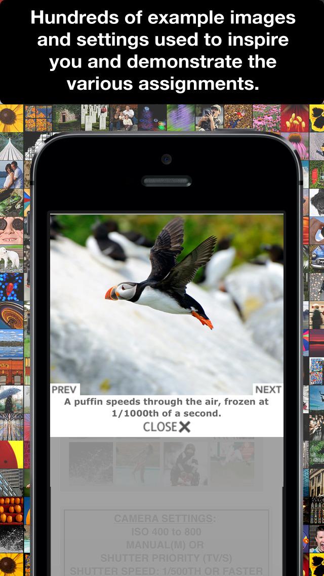 Learn Photo365 Photography Assignment Generator screenshot 5