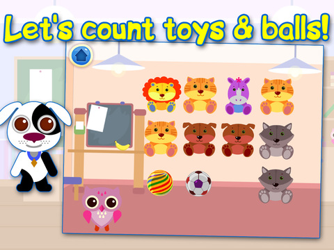 Educational Games For Children: Learning Numbers & Time. Free. screenshot 8