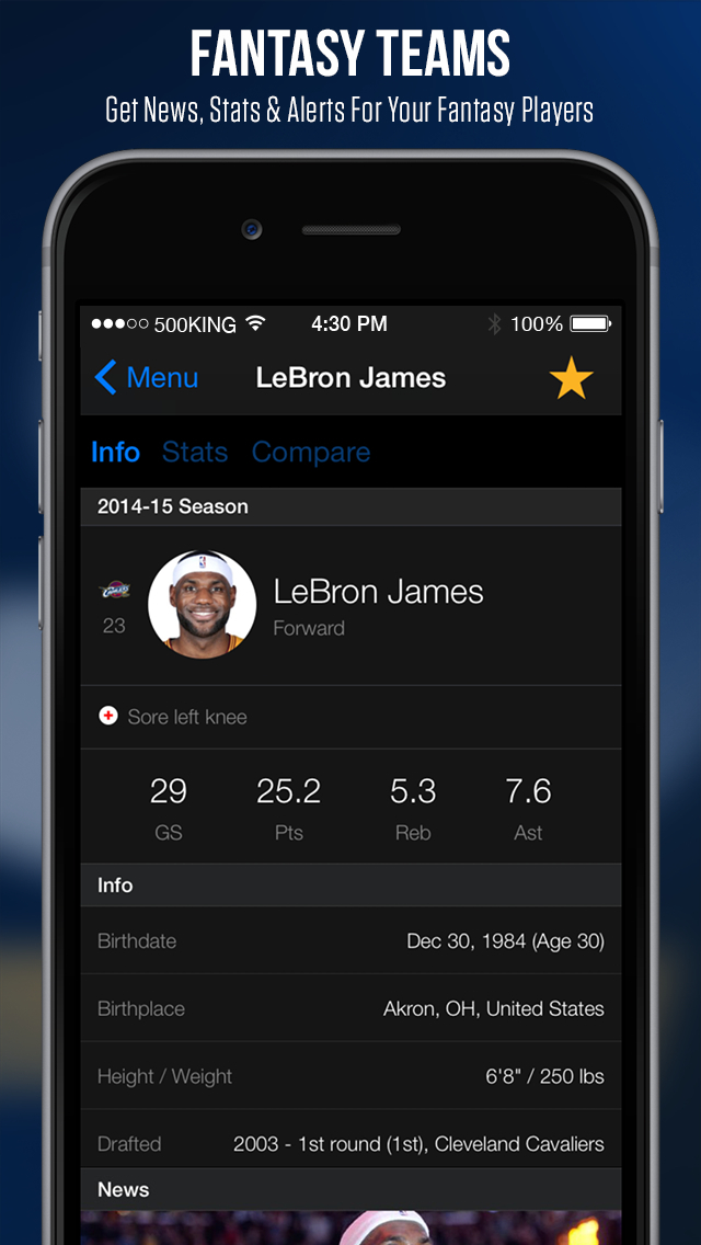 theScore: Sports News & Scores screenshot 5