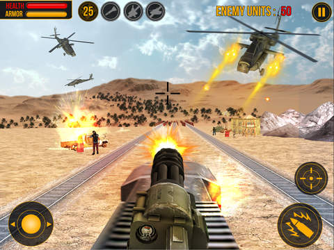 Island Train Shooter 3D screenshot 8