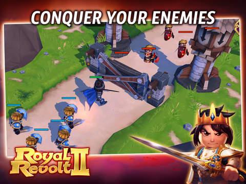 Royal Revolt 2: Tower Battle screenshot 5