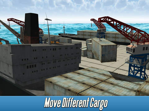 Harbor Tower Crane Simulator 2017 screenshot 7